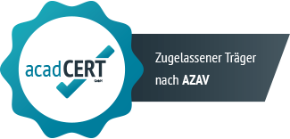 leo.Seminare azav-zertifiziert